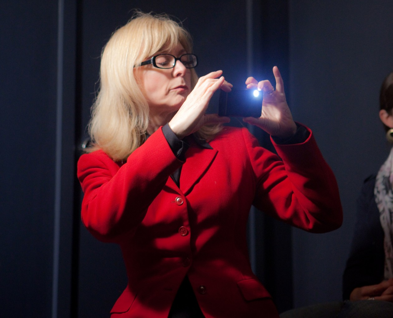 Nina Hartley Plays Hilary Clinton Image Copyright Kris Krüg